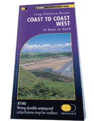Coast to Coast West Route Map - XT40